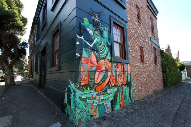 Graffiti in Fitzroy, Melbourne