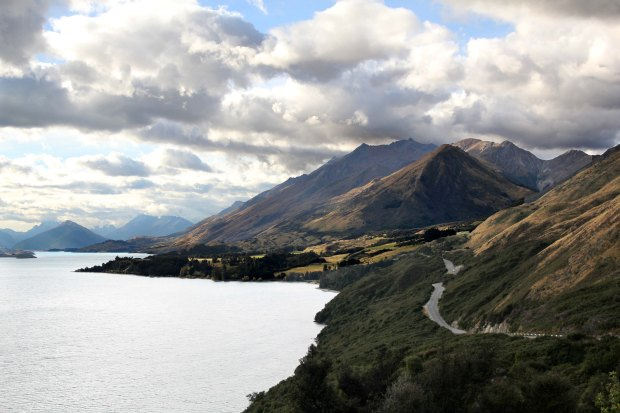 Mountains around Queenstown and Glenorchy