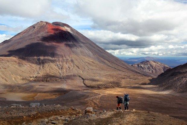 Hikers and Mount Doom
