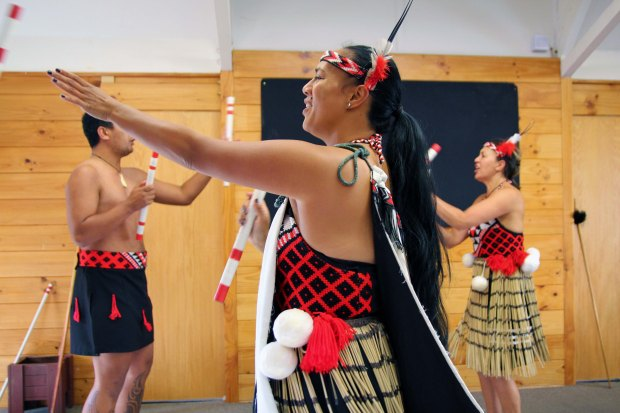 Traditional Maori dance