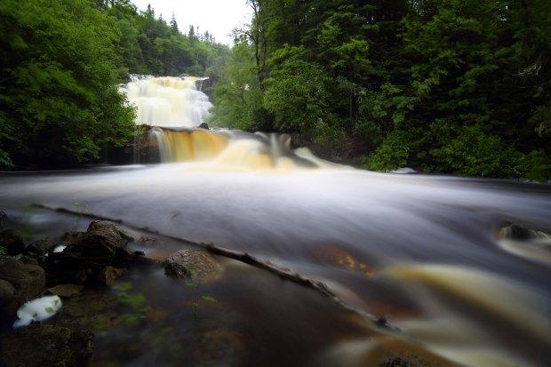 Waterfall near Marathon Ontario