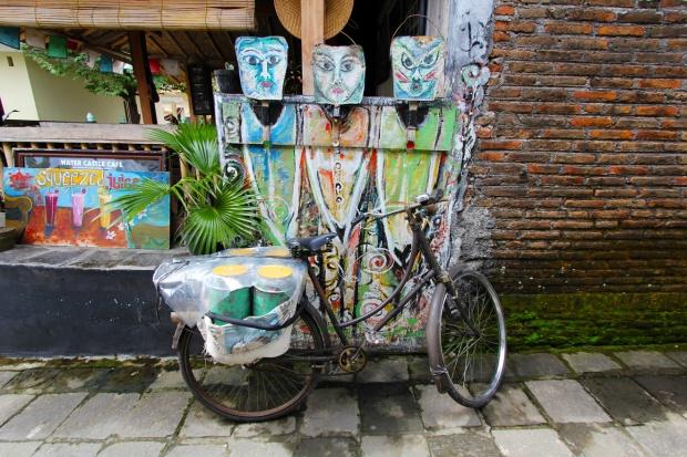 Street art in Yogyakarta